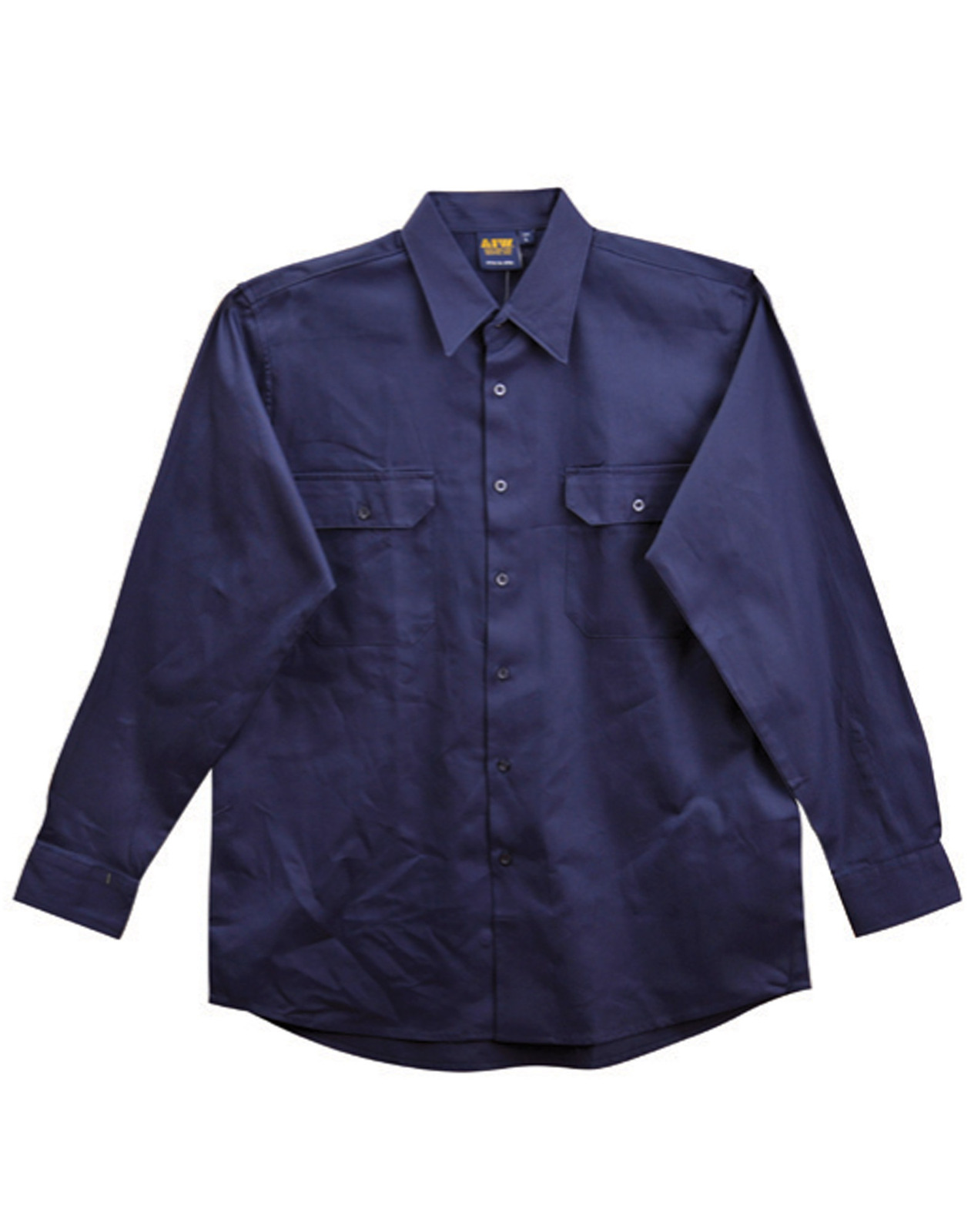 5 of aiw wt04 work shirt 100 cotton drill for 100 cotton work shirts