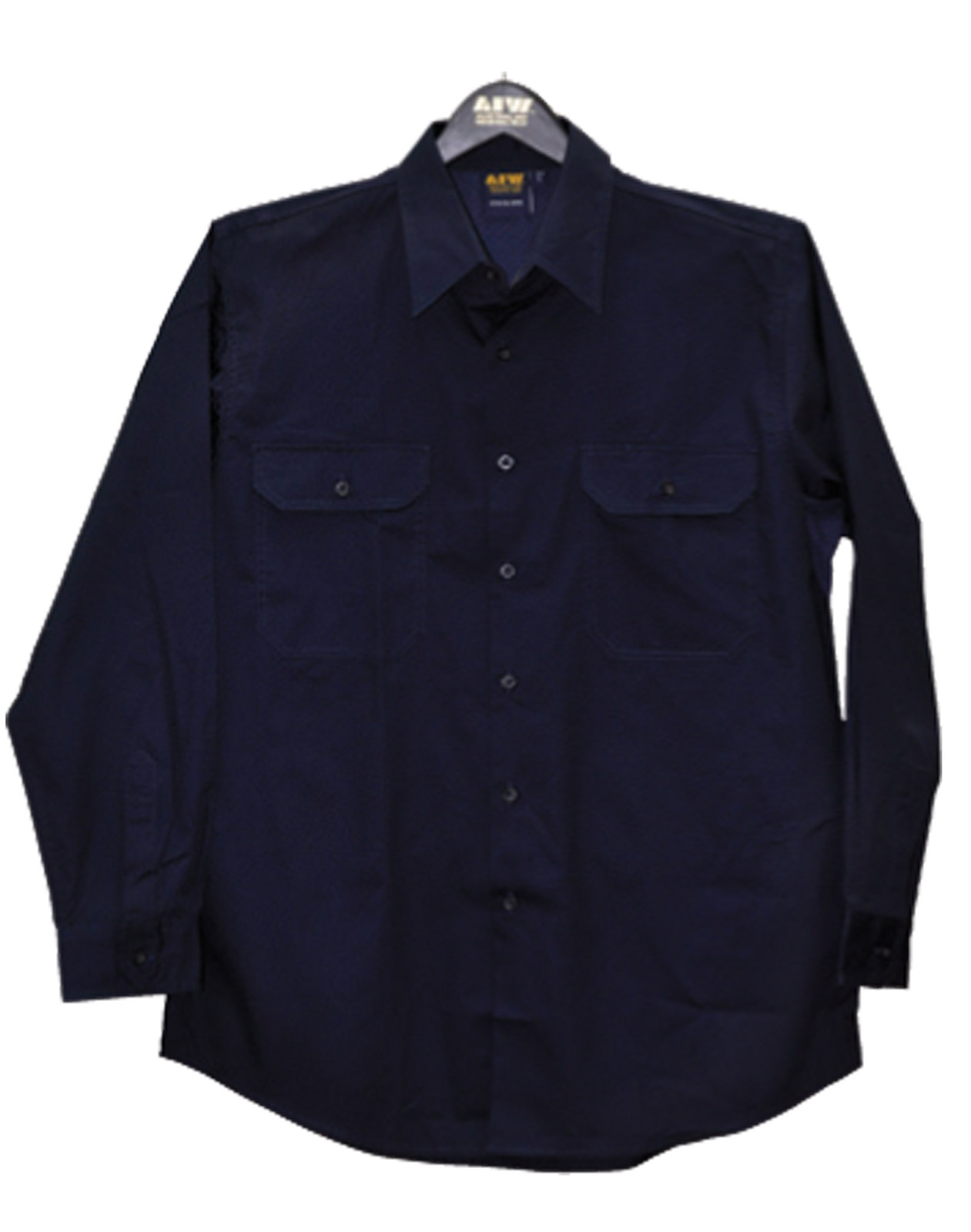 5 of aiw wt02 work shirt 100 cotton twill for 100 cotton work shirts
