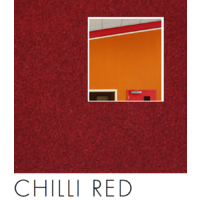 25 of  Composition Acoustic Wall Fabric and Screen Covering CHILLI RED  122x100cm RED03