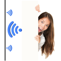 Quietspace Acoustic 75mm Wall Panel; Reduce in-room echo noise by up to 85%