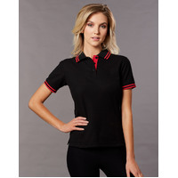AIW PS66 Womens Polo Shirt Cotton Blended PIque; 60% Cotton 40% Polyester