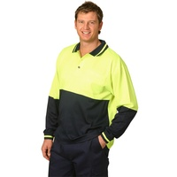 AIW SW11; High Visibility Safety Polo Shirt 57% Cotton 43% Polyester