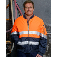 AIW SW16A; High Visibility Flying Jacket; 100% Polyester PU Coated w 3M Tape