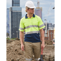 5 of  AIW SW17A; High Visibility Safety Polo Shirt 100% Polyester w 3M tape