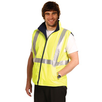 5 of  AIW SW19A; Reversible Safety Vest 100% Polyester PU Coated w 3M Tape