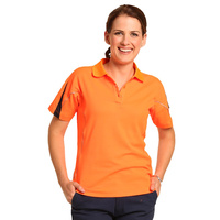 AIW SW26A; Womens Safety Polo Shirt 60% Cotton 40% Polyester