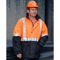5 of  AIW SW28A; High Visibility Safety Jacket 100% Polyester Quilted w 3M Tape
