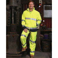 AIW SW29; High Visibility Safety Jacket 100% Nylon/Polyester w 3M Tape