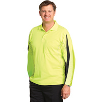 AIW SW33A; Safety Polo Shirt 60% Cotton 40% Polyester