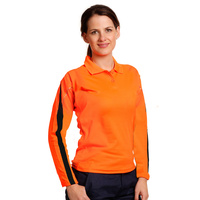 AIW SW34A; Womens Safety Polo Shirt 60% Cotton 40% Polyester