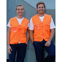 AIW SW41; High Visibility Safety Vest 100% Polyester