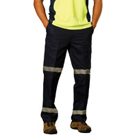AIW WP13HV; LONG Drill Pants 100% Cotton Drill w 3M Tapes