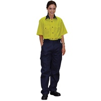 AIW WP15; Womens Drill Pants 100% HEAVY Cotton
