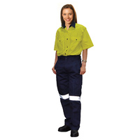 AIW WP15HV; Womens Drill Pants 100% HEAVY Cotton w 3M Tapes