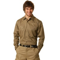 AIW WT04; Work Shirt 100% Cotton Drill