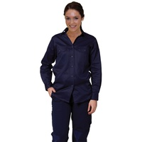 AIW WT08; Womens Work Shirt 100% Cotton Drill