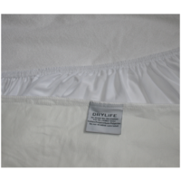 68cm x 130cm DryLife Baby Cot Mattress Protector; Waterproof; Cotton Towelling Upper