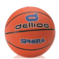 PD024 ; Dellios SPHERA Mens Basketball Size 7; Orange/Blue