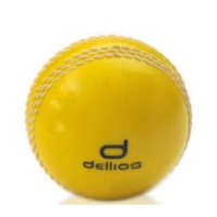 PD027 ; Dellios POLY Cricket ball, Official size, Yellow