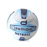 PD014 ; Dellios Netball, Size 5; Light Blue/Dark Blue