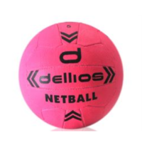PD015 ; Dellios Netball, Size 5; Pink