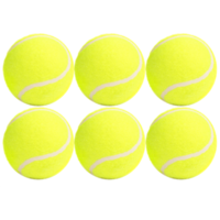 6 x Super Cheap All-purpose Tennis Balls for yard or pet games