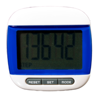 FreePost PZ01 Blue LCD Pedometer Step and Calorie Counter