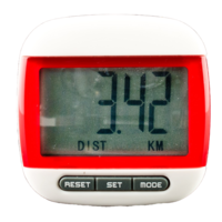 FreePost PZ01 Red LCD Pedometer Step and Calorie Counter