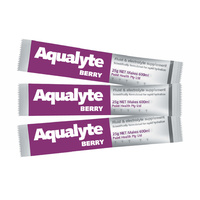 PH022 ; 50x Aqualyte hydration 25g sachets BERRY flavour