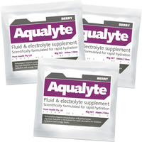 PH028 ; 100x Aqualyte hydration 80g sachets BERRY flavour