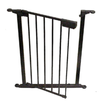 FPA006  1x60cm; UHG Gate Panel; Black