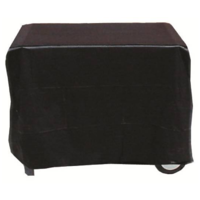 BQC008  60x95cm; Economy Flat topped SMALL BBQ Cover; Black