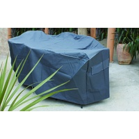 OFC039  185x90cm; Outdoor Setting Cover; Pewter Grey