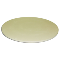 37cm dia x 8mm thick; Ceramic Pizza Stone; Non-stick