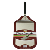 PZ011 Stainless Steel Pizza Spatula 30cm L x 20cm W w 175mm L folding handle; Easy to clean and store