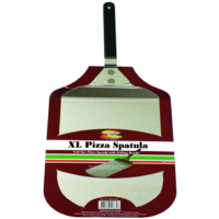 PZ010 XL Stainless Steel Pizza Spatula 355mm L x 305mm W w 250mm L folding handle; Easy to clean and store