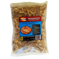SF305 Smoking Grilling Chips 1kg MESQUITE flavoured; Strong spicy very distinctive Southwest USA, use with smoker box