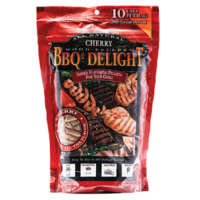 SF106 BBQrs Smoking Grilling Pellets 450g ORANGE WOOD flavoured; Mild tangy citrus smoke, use with smoker box