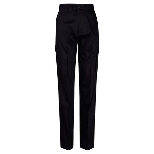 5 of  WP13 Sz 74L; LONG Drill Pants 100% Cotton Drill; Black