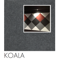 SAMPLE; BLACK (Koala Bla01) 10x10cm VERTIFACE/Quietspace Acoustic Fabric