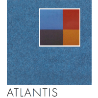 SAMPLE; BLUE (Atlantis Blu08) 10x10cm VERTIFACE/Quietspace Acoustic Fabric