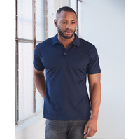 PS81 VERVE Polyester Mens Polo Shirt