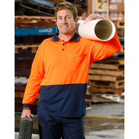 AIW SW05CD; High Visibility Safety Polo Shirt 100% Polyester