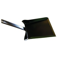 FPT009 36cm long 18cm wide Black Steel Fire Shovel / Ash Pan
