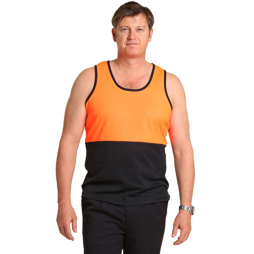 5 of  SW15; High Visibility Safety Singlet 60% Cotton 40% Polyester