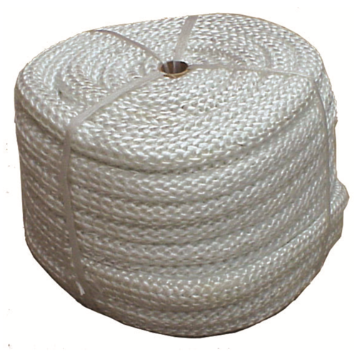WBA015 Spool 25mm dia x25m Fibreglass Rope; White